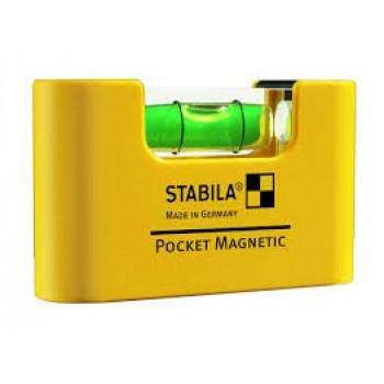 Stabila Pocket Magnetic   Уровень строительный