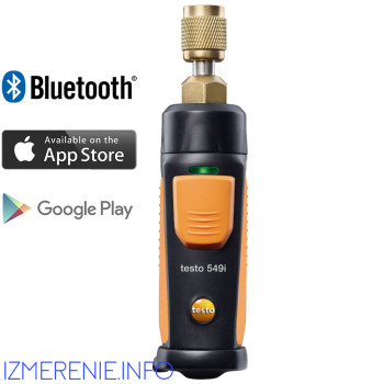 Testo 549i | Манометр высокого давления с Bluetooth, управляемый со смартфона/планшета