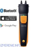 Testo 510i | Манометр дифференциального давления с Bluetooth, управляемый со смартфона/планшета