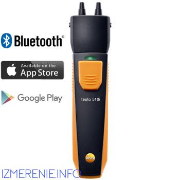 Testo 510i | Манометр дифференциального давления c Bluetooth (0560 1510)