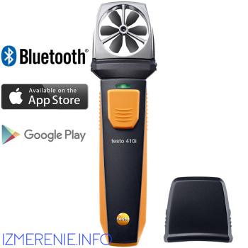 Testo 410i | Анемометр с крыльчаткой с Bluetooth