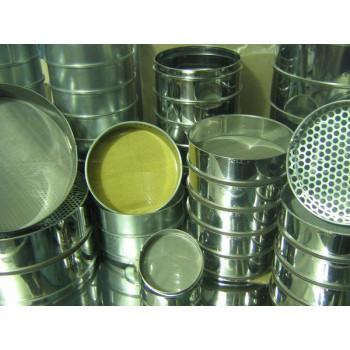 Комплект сит №2 Исп. 3: для песка и щебня КП-109/1 | 0,16-70 мм