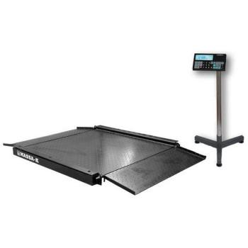МАССА-К 4D-LA-2-2000 | Промышленные низкопрофильные весы электронные