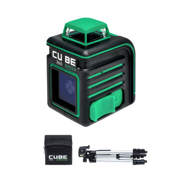 ADA Cube 360 Green Professional Edition | Нивелир лазерный  (A00535)