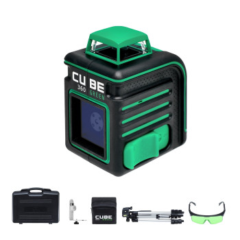 ADA Cube 360 Green Ultimate Edition | Нивелир лазерный
