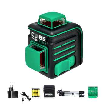 ADA Cube 2-360 Green Professional Edition | Нивелир лазерный  (A00534)