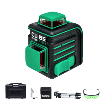ADA Cube 2-360 Green Ultimate Edition | Нивелир лазерный  (A00471)