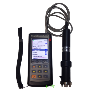 ОНИКС-2.5 версия 1 (встроенный пирометр) | Электронный склерометр (Измеритель прочности бетона)