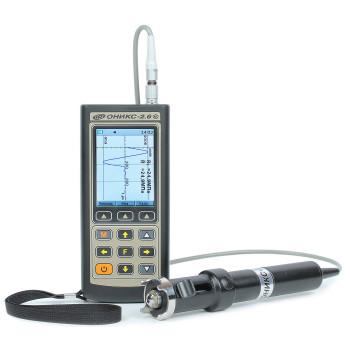 ОНИКС-2.6 | Измеритель прочности (дефектоскоп) строительных материалов