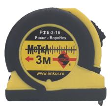 Рулетка измерительная 3 м | Энкор РФ6-3-16