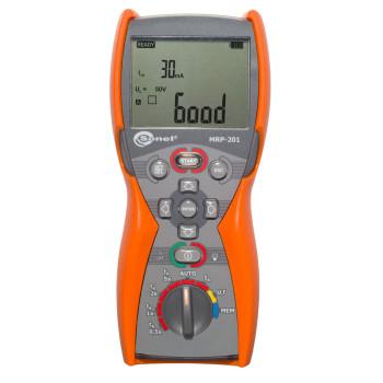 MRP-201 | Измеритель напряжения прикосновения и параметров устройств защитного отключения (MRP-201)
