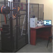 СМИ-400K | Cтенд для механических испытаний лестниц, предохранительных поясов, канатов, лазов и когтей