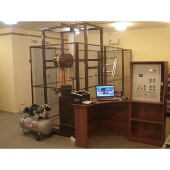 СМИ-600K | Cтенд для механических испытаний лестниц, предохранительных поясов, канатов, лазов и когтей