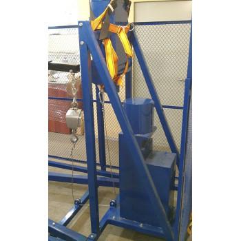 СМИ-1000 | Cтенд для механических испытаний лестниц, предохранительных поясов, канатов, лазов и когтей
