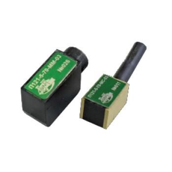 Преобразователи наклонные контактные совмещенные типа П121 миниатюрные и миниатюрные с малой стрелой