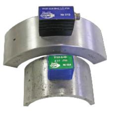 Преобразователи наклонные контактные совмещенные типа П121 для контроля гибов труб