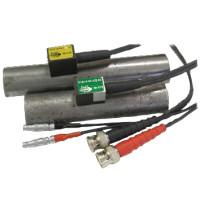 Преобразователи наклонные контактные раздельно-совмещенные типа П122 для контроля труб малого диаметра